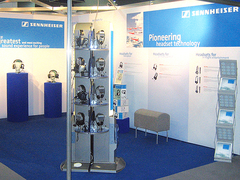 Exhibition Stand Contractors Glasgow : Exhibition displays and stand production and installation